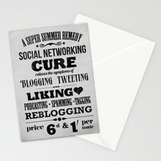 Social remedy Stationery Cards