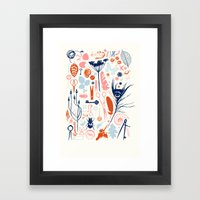 Memory Box Framed Art Print