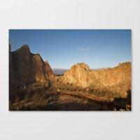 Smith Rock Sunrise II Canvas Print