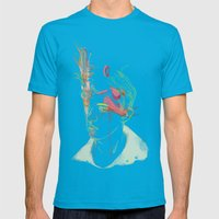 Clouder Mens Fitted Tee Teal SMALL