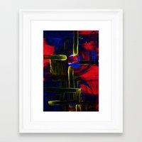 Nightbrite Framed Art Print