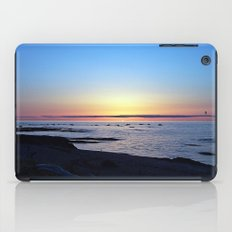 Sun Sets up the River, Across the Sea iPad Case