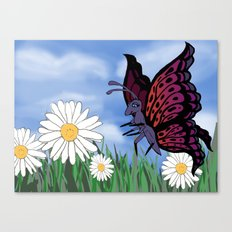 Betsy Butterfly Canvas Print