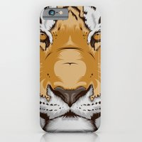iPhone & iPod Case featuring Tiger OW by CranioDsgn