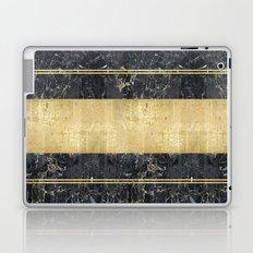 marble in gOld Laptop & iPad Skin