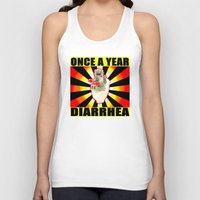 once a year diarrhea Unisex Tank Top