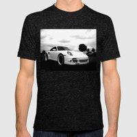 Porsche 911 Turbo Mens Fitted Tee Tri-Black SMALL
