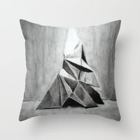 Origami Butterfly Throw Pillow