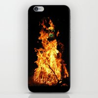 Fire Demon iPhone & iPod Skin