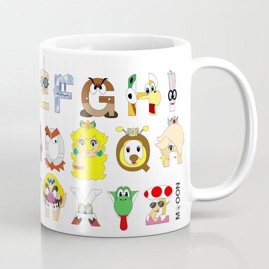 Super Mario Alphabet Mug