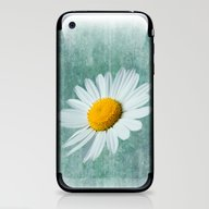 iPhone & iPod Skin featuring Daisy Head by Alice Gosling