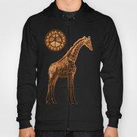 Three Giraffes Hoody