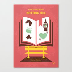 No434 My Notting Hill minimal movie poster Canvas Print