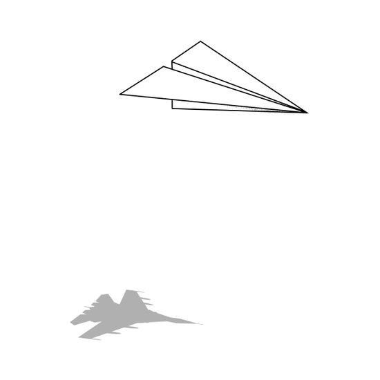 Paper Airplane Dreams Art Print