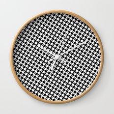 Houndstooth (Pepita) Wall Clock