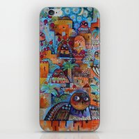 7 Jerusalem owls iPhone & iPod Skin