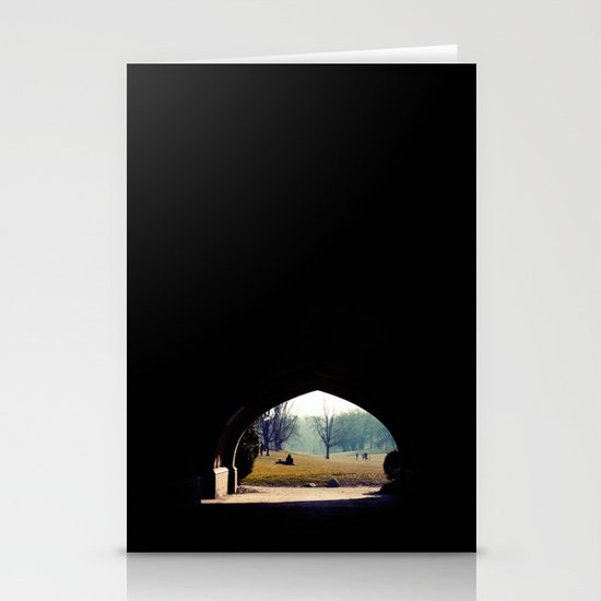 tunnel Stationery Card