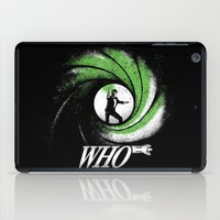 The Name's Who iPad Case