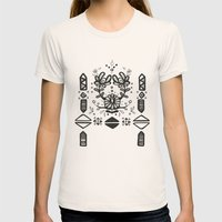 Tribal  Womens Fitted Tee Natural SMALL