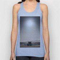 Venice Beach California Guard Tower Unisex Tank Top