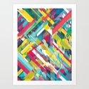 Overstrung Art Print