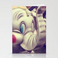 Carnival Elephant Stationery Cards