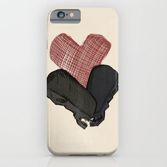 Aliens in Love iPhone & iPod Case