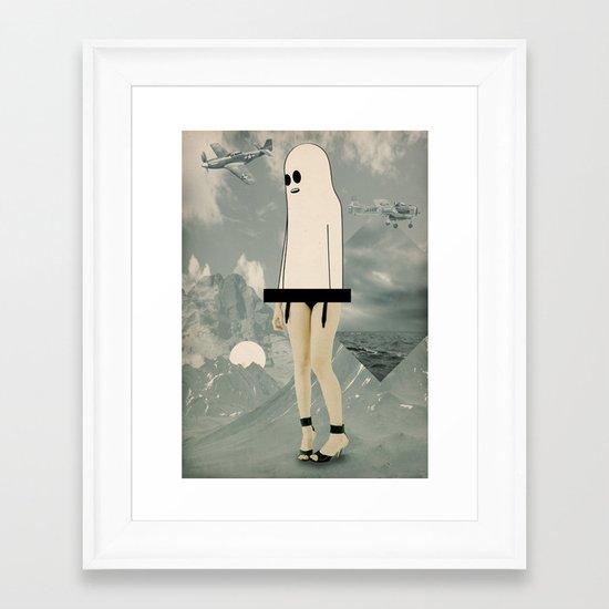voila_voilà Framed Art Print