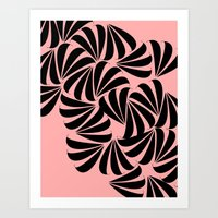 japanese Art Prints featuring Japanese by Kayla Cole