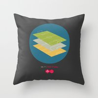 Law No.1: Field of Play Throw Pillow
