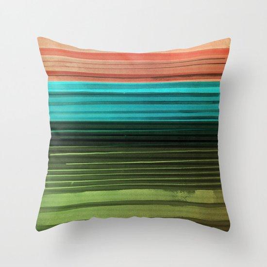 I Want Stripes Throw Pillow