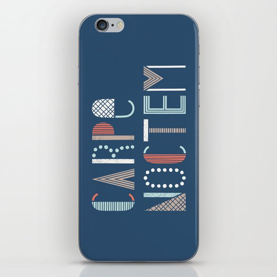 Carpe Noctem iPhone & iPod Skin