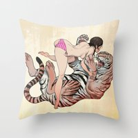 Tigerstyle Throw Pillow