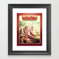 Rock Island Railroad Pos… Framed Art Print