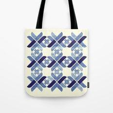 Nordic Blue Tote Bag