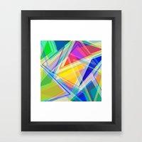 ∆Mix Framed Art Print