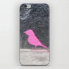 Pink Bird I iPhone & iPod Skin