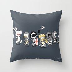 Run away! Run away!  Throw Pillow