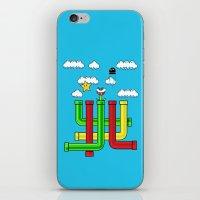 Pipe Dreams iPhone & iPod Skin