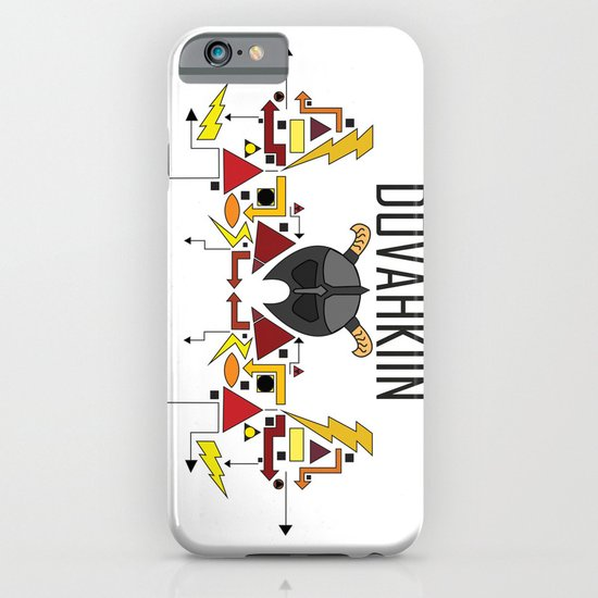 Skyrim: The Dovahkiin - RED (Skyrim) iPhone & iPod Case