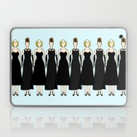 Little Black Dress of Audrey Marilyn Laptop & iPad Skin