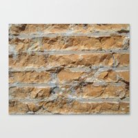 Cut Stone Canvas Print