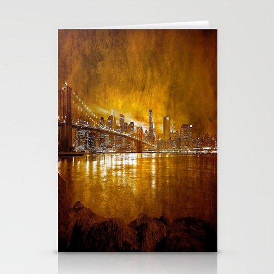 Brooklyn Bridge Stationery Card