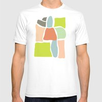 Skelo Mens Fitted Tee White SMALL