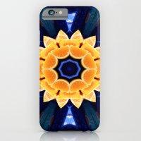 Orange Flower Mandala iPhone 6 Slim Case