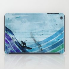 the wave iPad Case