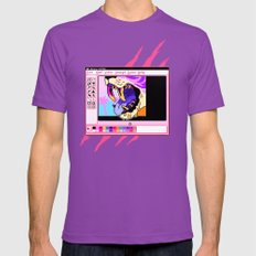 beast Mens Fitted Tee Ultraviolet SMALL
