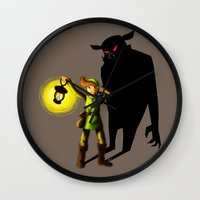 The Hero's Lantern Wall Clock