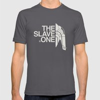 The Slave One Mens Fitted Tee Asphalt SMALL