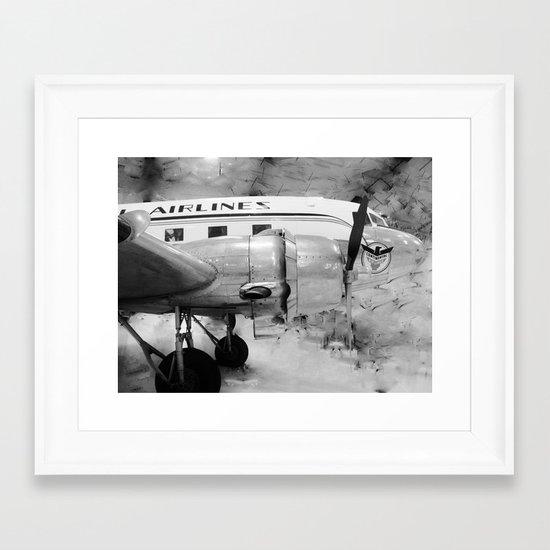 Galveston Air Museum II Framed Art Print